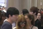 แทยอน snsd ถูกแฟนคลับลวนลาม ที่สนามบินอินชอน