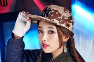 ซูจี Miss A ถ่ายแบบ แคชวล MLB
