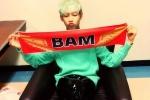 แบมแบม GOT7  ขอบคุณเเฟนคลับให้กำลังใจงาน Tofu Music Festival 2014