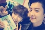 ชานยอล exo โพสต์ภาพถ่ายคู่แบคฮยอน exo พร้อมติดแท็ก #MCแบคฮยอน