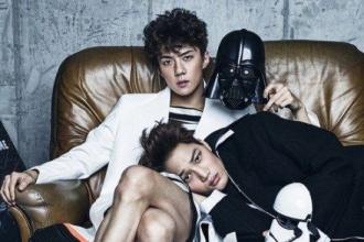 EXO เผยแล้วภาพถ่ายคอนเซ็ปท์ธีม Star Wars งานนี้ดาร์กสุด! เข้มจริง!