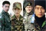 15 ไอดอลชายเกาหลีในชุดเครื่องแบบทหาร! หล่อเท่แถมแอบฮอตเบา ๆ !!