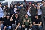 The King Loves เหล่านักแสดงต่างพากันไปเยี่ยม อิมชีวาน ในกรมทหาร