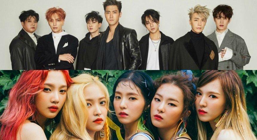 Red Velvet และ Super Junior เป็นแขกรับเชิญในรายการ Running