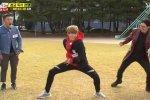 คังแดเนียล Wanna One โชว์ เต้นท่าลูบต้นขา ในรายการ Running Man