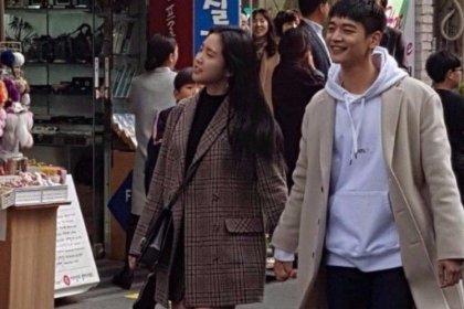 มินโฮ SHINee และนาอึน APINK ถูกจับภาพได้ขณะถ่ายทำละครเรื่องใหม่