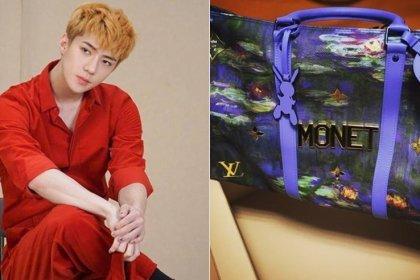 เซฮุน EXO ขอบคุณ Louis Vuitton สำหรับกระเป๋าใหม่ราคาแพง