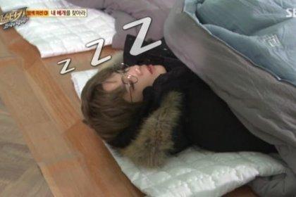 คังแดเนียล Wanna One หลับจริง! ขณะเล่นเกมในรายการ Master Key