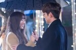 ยูซึงโฮ และ แชซูบิน กับภาพเบื้องหลัง ขณะถ่ายทำฉากจูบในละครเรื่อง I Am Not A Robot