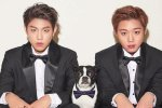 พัคจีฮุน และ พัคอูจิน Wanna One ขึ้นปก 1st Look ในคอนซปท์ ปาร์ตี้สำหรับอายุที่จะมาถึง