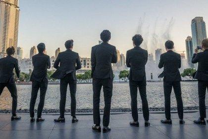 สื่อดูไบ ต่างตื่นเต้นกับศิลปิน K-POP กลุ่มแรกที่มาในงานแสดง Dubai Fountain Show