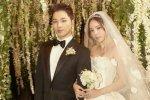 ต้นสังกัดของ แทยัง และ มินฮโยริน เผยภาพจากงานปาร์ตี้ ฉลองงานแต่งงาน
