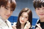 เดบิวท์แล้ว! มินกยู จองแชยอน และ ซงคัง สามพิธีกรหน้าใหม่ ดำเนินรายการ Inkigayo
