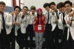 ฝันที่เป็นจริง! นักสเก็ตสาวชาวรัสเซีย Evgenia Medvedeva ได้พบกับหนุ่มๆ EXO แล้ว!