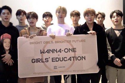 Wanna One เข้าร่วมกับองค์การ UNESCO เพื่อช่วยเหลือเด็กผู้หญิงทั่วโลกให้ได้รับการศึกษา