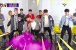 พี่ ๆ ในวง Wanna One ล้อเลียนแพจินยองเกี่ยวกับนิสัยการเต้นแบบจัดเต็มของเขา!