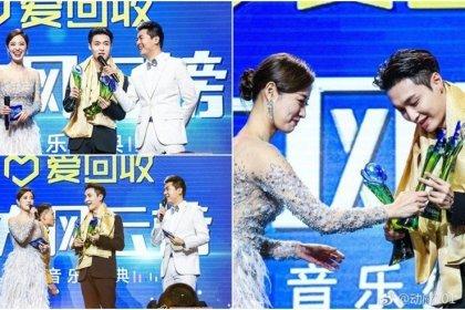 เลย์ EXO ได้รับ 3 รางวัล ที่งาน Dong Fang Feng Yun Bang Music Awards ครั้งที่ 25