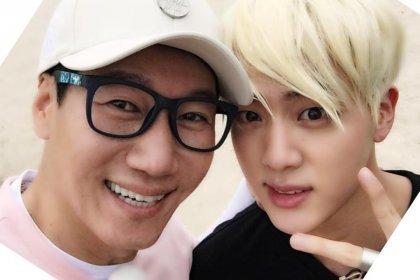 จิน BTS และจีซอกจิน พิสูจน์ให้เห็นว่าพวกเขาเป็นเพื่อนสนิทกันใน Running Man
