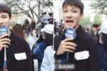 แฟนคลับ NCT ได้ทำพฤติกรรมที่ไม่น่ารัก ในขณะที่ คิมซามูเอล กำลังให้สัมภาษณ์รายการสด