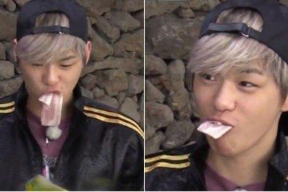 คังดาเนียล Wanna One ทำให้หลายคนตกใจเมื่อพบว่าเขากินเบคอนแบบดิบ ๆ