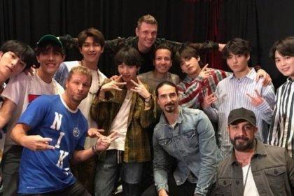 BTS และ Backstreet Boys ได้พบกันหลังจาก Nick Carter เผยว่าสนใจที่จะร่วมงานด้วย!