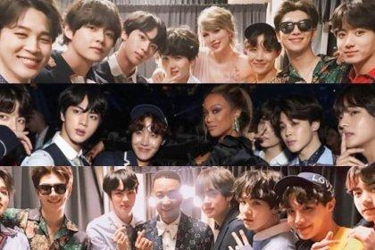 BTS ได้พบกับเหล่าคนดังระดับโลก! ในงานประกาศรางวัล Billboard Music Awards 2018