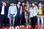 BTS หลีกเลี่ยงการถ่ายภาพกับกำแพงของ Music Bank เนื่องจากป้องกันความปลอดภัย!