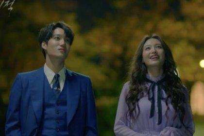 ไค EXO และคิมแจคยอง โชว์สเต็ปเท้าไฟเต้นให้ดูในตอนสุดท้ายของละคร The Miracle We Met!