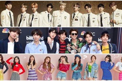 Wanna One BTS และ TWICE ถูกโหวตให้เป็นไอดอลกรุ๊ปที่ ร้องและเต้น บนสเตจดีที่สุด!