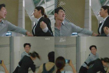 ชาวเน็ตรู้สึกว่า ซอคังจุน จะตบหน้า กงซึงยอน แรงเกินไปในละคร แรงเกินกว่าจะทนดูได้!