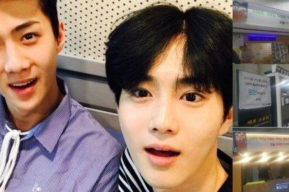 เซฮุน EXO ส่งรถบรรทุกอาหารถึง 6 คัน ไปยังกองถ่ายละครวันสุดท้ายของพี่ชายสุดที่รัก ซูโฮ!
