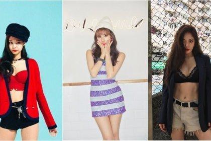 สวยใส หลบไป! สวยเซ็กซี่ กำลังมา! 10 อันดับ ไอดอลสาว K-POP ที่เซ็กซี่ที่สุด ในวงการ!