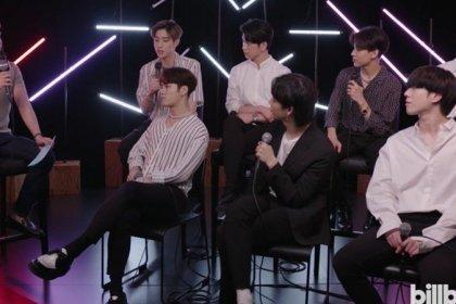 GOT7 พูดถึง การเป็นไอดอล K-POP กลุ่มแรกที่ได้ไปแสดงคอนเสิร์ตที่ Barclays Center!