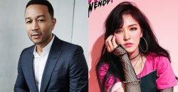 มีข่าวลือว่าเวนดี้ Red Velvet จะร่วมงานกับ John Legend ในเพลงใหม่ Station x 0