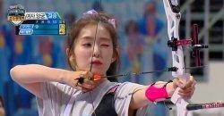 ไอรีน Red Velvet ยิงธนูทะลุเป้าตรงกลางของกล้องได้ทำให้จอนฮยอนมูถึงกับเศร้า