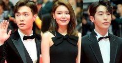 นักแสดงเกาหลี เปล่งออร่าเดินพรมแดง ในงาน Busan International Film Festival ครั้งที่ 23