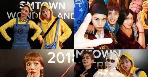 รวมภาพถ่ายปาร์ตี้ฮัลโลวีนของ SM Entertainment ปีนี้! (ภาค 2)