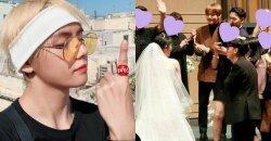 วี BTS เดินทางไปร่วมแสดงความยินดีที่งานแต่งงานเพื่อนสนิท ท่ามกลางตารางงานที่ยุ่งเหยิง