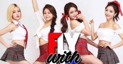 สาวๆ FLYWITHME กลายเป็นไวรัลทั่วโลกออนไลน์ กับคลิปการแสดง 18+ จาก Fancam