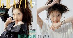 ฮยอนอา (HyunA) โชว์หน้าสดไม่มีเมกอัพขึ้นปกนิตยสาร Grazia