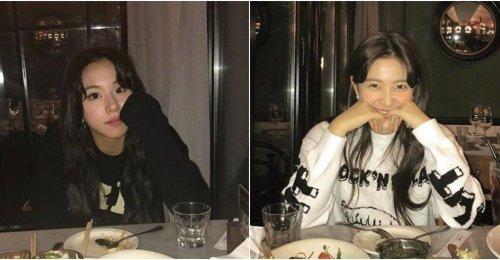 แชยอง TWICE และ เยริ Red Velvet แชร์ภาพสุดน่ารัก ในช่วงที่พักจากตารางงานด้วยกัน!