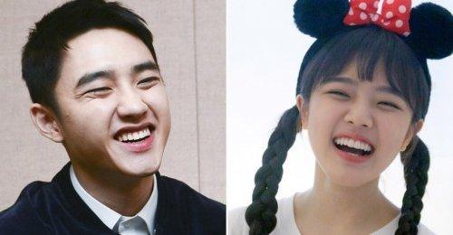 ดีโอ EXO เห็นด้วยว่านักแสดงสาว 'คิมฮยังกี' และเขามีหน้าตาคล้าย ๆ กัน!