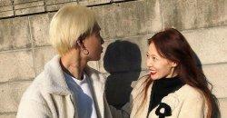ฮยอนอาและฮโยจง (อีดอน อดีตสมาชิก PENTAGON) แชร์ภาพจูบกันลงบนโซเชียล