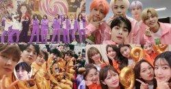 เหล่าไอดอลเกาหลี กับภาพจากงาน 2019 Idol Star Athletics Championships
