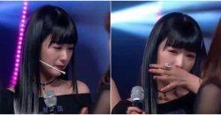 โบมี A Pink สะอึกสะอื้นอย่างหนัก! หลังชนะรางวัลเพลง ใน M! Countdown!