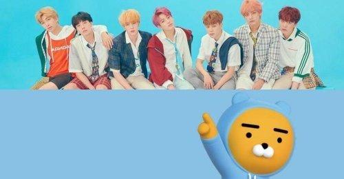 มีรายงานว่า นักออกแบบ Ryan ของ Kakao Friends จะทำงานกับคาแรกเตอร์ของ BTS