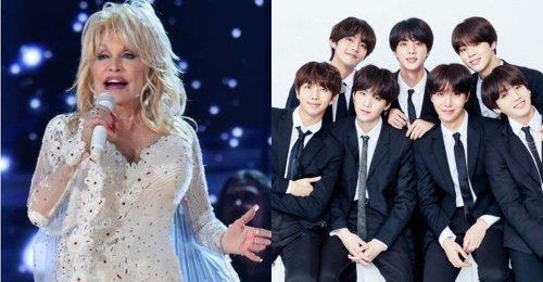Dolly Parton ถามแฟนๆ เกี่ยวกับการร่วมงานกับหนุ่มๆ BTS