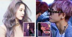 แฟนๆ สังเกตเห็น ไอรีน Red Velvet  และ V BTS บนปกหนังสือการ์ตูน Marvel