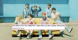 Boy With Luv เป็น MV เพลงของศิลปิน บอยกรุ๊ป K-POP ที่มียอดวิว 200 ล้านวิวไวที่สุด