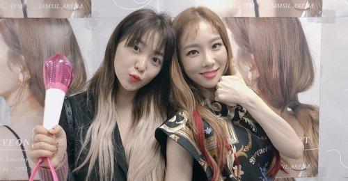 เยริ Red Velvet ได้แสดงความรัก และการสนับสนุน ไปยัง แทยอน SNSD
